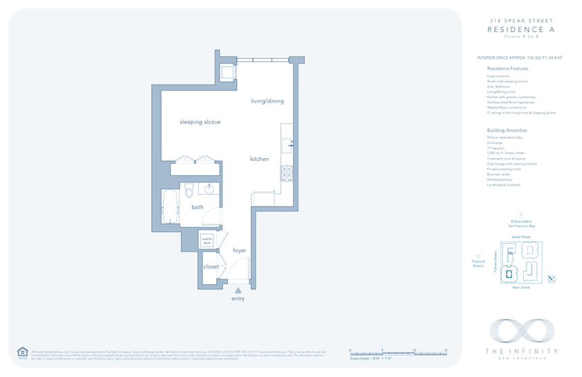 Infinity towers san francisco floor plans for Spear house blueprints