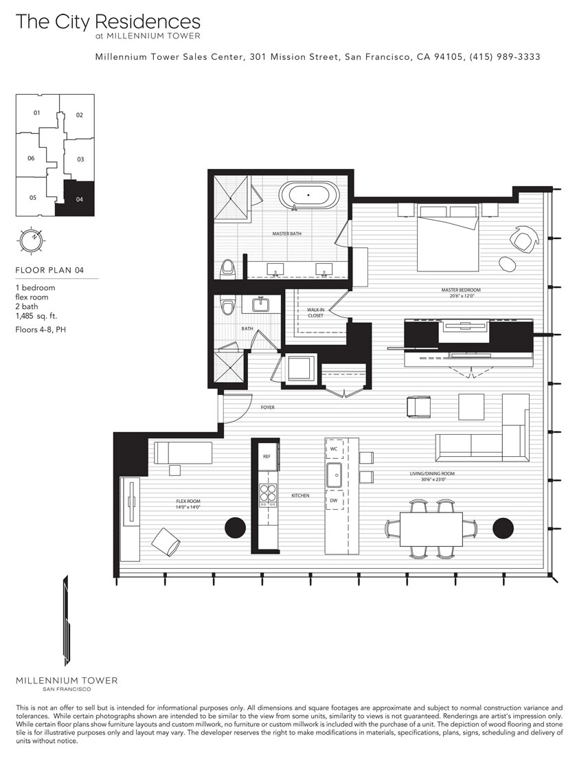 san francisco floor plans
