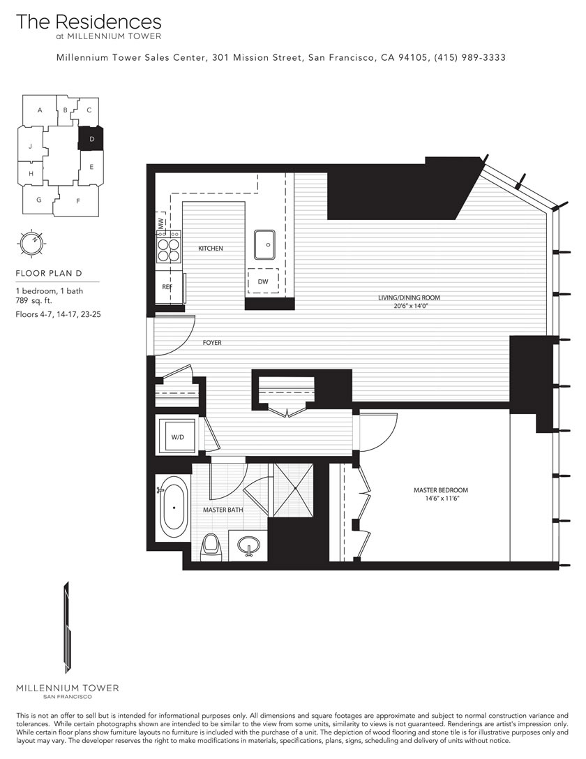 Infinity towers san francisco floor plans for Floor design sf