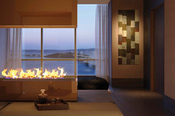 Fireplace Lounge & Sky Terrace