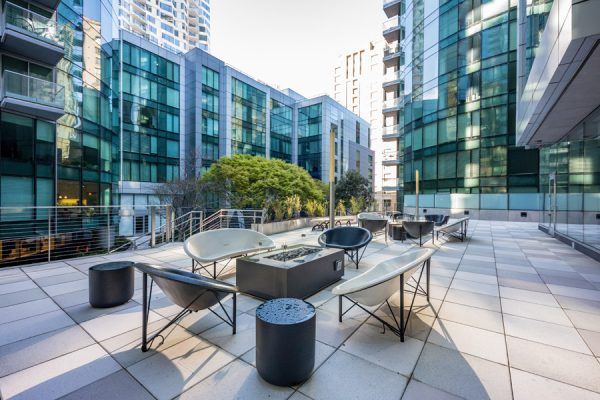 Outdoor Patio + Heated Chairs & Firepits