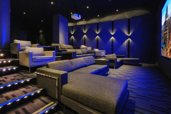 Spacious Private Theater